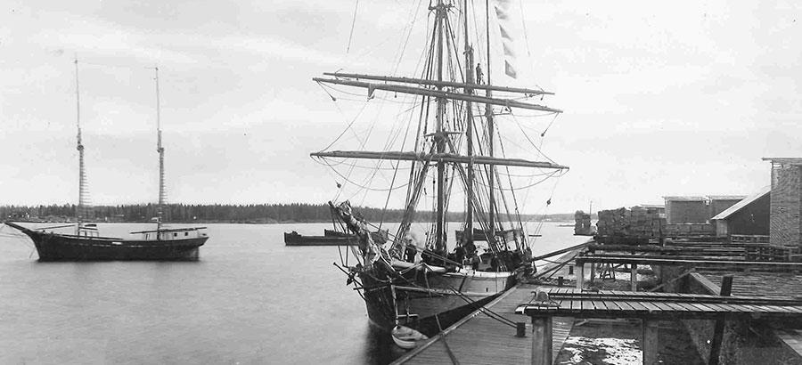 Antti Ahlström grundar verksamheten 1851